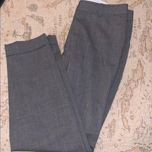 Lafayette 148 New York Perry Gray Dress Slacks